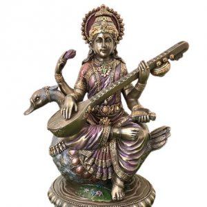 Aquarius: Goddess Saraswati